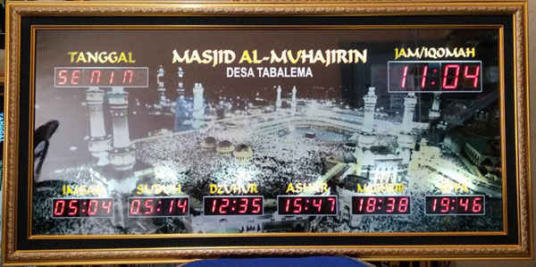 Jadwal Sholat Digital Dan Running Text